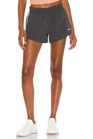 P.E Nation In Goal Short in Charcoal.
