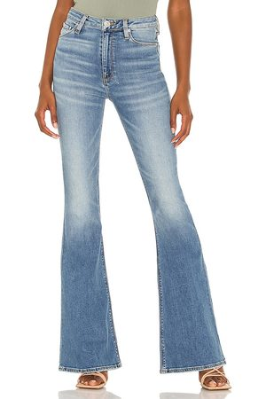 Hudson Holly High Rise Flare Jean in Blue.