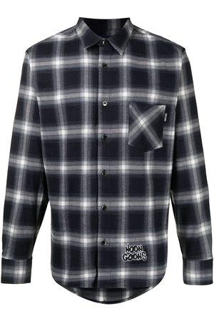 NOON GOONS Men Casual - Check-print flannel shirt