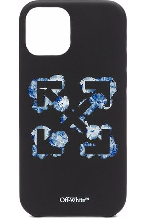 Off-White Floral Arrows-print iPhone 12 case