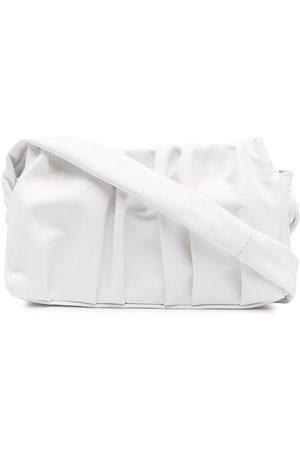 Elleme Vague leather clutch bag