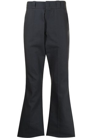 RAF SIMONS Flared tailored trousers - Grey