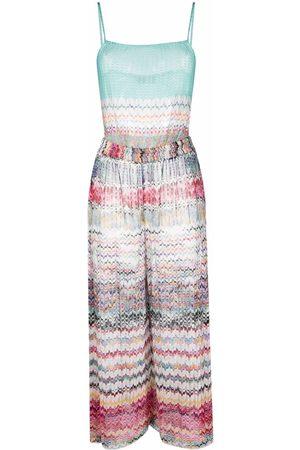 Missoni Women Beachwear - Zigzag woven beach cover-up