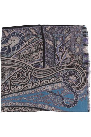 Etro Men Scarves - Paisley print scarf
