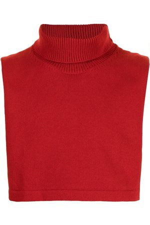 Jil Sander Men Scarves - Roll-neck knitted collar