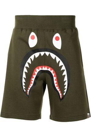 A Bathing Ape Shark sweat shorts