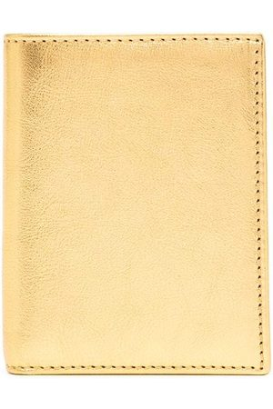 Comme des Garçons Women Purses - Metallic bi-fold cardholder
