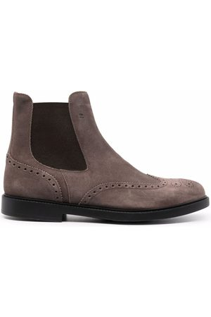 Fratelli Rossetti Round-toe ankle boots - Grey