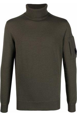 C.P. Company Men Turtlenecks - Lens-detail roll-neck jumper