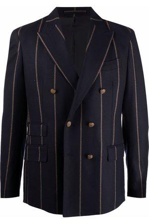 ELEVENTY Men Blazers - Pinstripe double-breasted blazer
