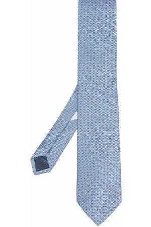 Salvatore Ferragamo Men Bow Ties - Gancini print tie