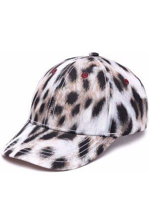 Molo Kids Leopard-print baseball cap - Neutrals