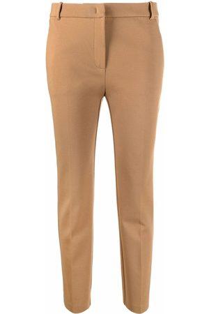 Pinko Women Straight Leg Pants - Mid-rise straight-leg trousers