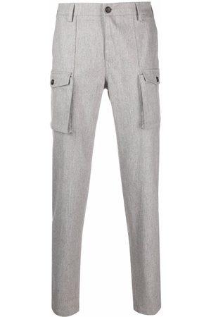 ELEVENTY Men Cargo Pants - Straight-leg cargo trousers - Grey