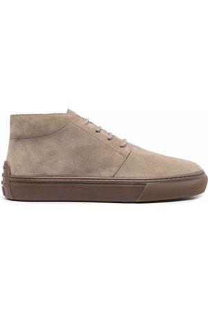 Tod's Men Lace-up Boots - Lace-up deserr boots - Neutrals