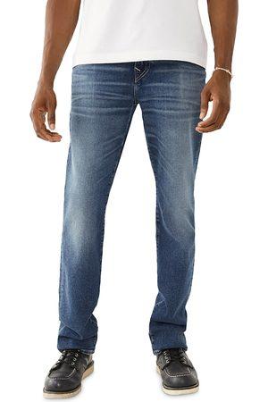 True Religion Men Slim - Rocco No Flap Slim Fit Jeans in Blurred Haze