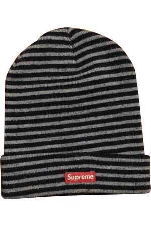 Supreme Grey Synthetic Hats & Pull ON Hats