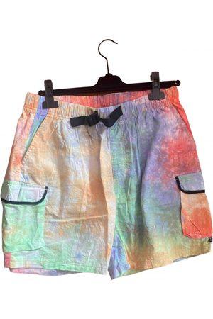 STUSSY Men Shorts - Multicolour Cotton Shorts