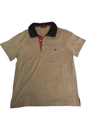 Caramel Camel Cotton Polo Shirts