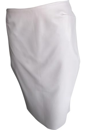 MATICEVSKI Leather mid-length skirt