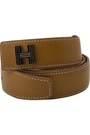 Hermès Women Belts - Camel Leather Belts