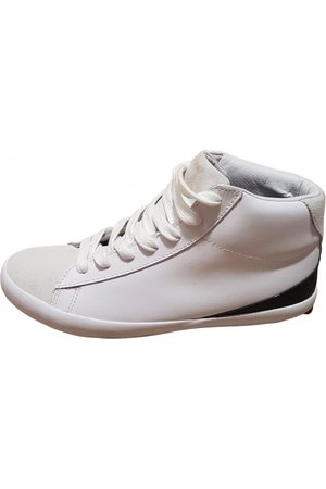 Sandro Men Sneakers - Leather high trainers