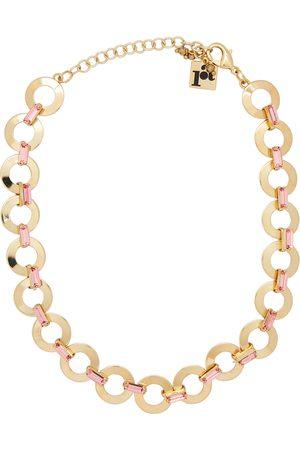 ROSANTICA Rondella crystal-embellished gold-tone necklace