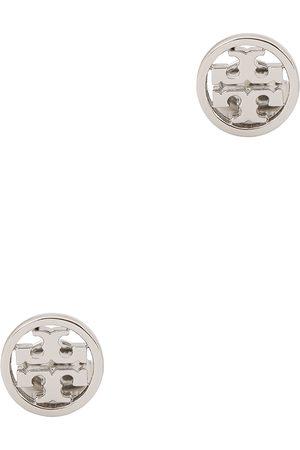 Tory Burch Women Earrings - Miller logo -tone stud earrings