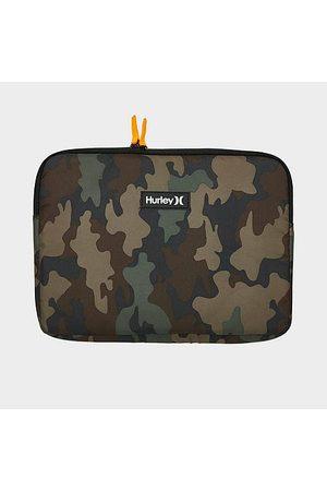 "Nike Hurley Signature 13"" Camo Laptop Case in Brown/Camo/ Polyester/Velvet"