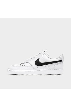 Nike Men's Court Vision Low Casual Shoes in / Size 7.5 Leather