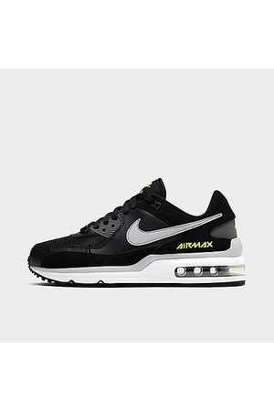 Nike Big Kids' Air Max Wright Casual Shoes in / Size 4.0 Leather/Knit