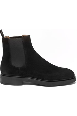 Gianvito Rossi Suede Chelsea Boots - Mens