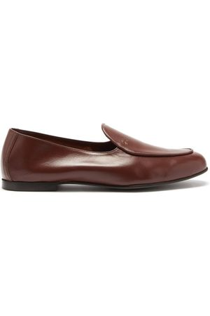 Jacques Men Loafers - Jacques Debossed-logo Leather Loafers - Mens