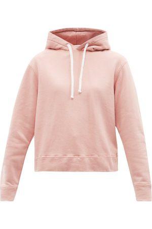 OFFICINE GENERALE Olivia Cotton-jersey Hooded Sweatshirt - Womens