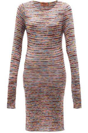 Missoni Striped Knit Mini Dress - Womens - Multi Stripe
