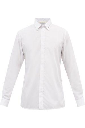1017 ALYX 9SM Hardware-logo Cotton-poplin Shirt - Mens
