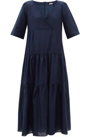 Weekend Max Mara Women Dresses - Tevere Dress - Womens - Navy