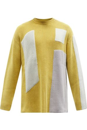 Greater than A Men Tops - Cold-Wll* - Frme Ribbed Cotton-blend Sweter - Mens