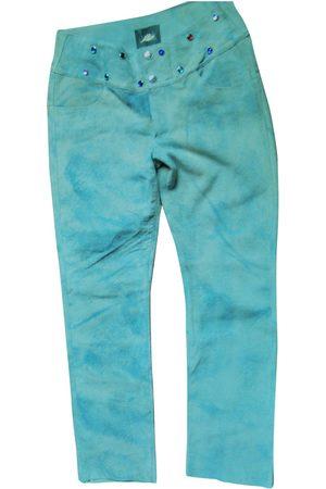 Fiorucci Leather straight pants