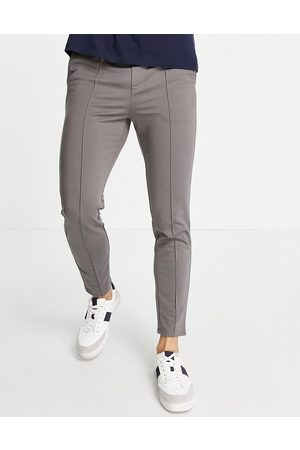 Only & Sons Pants with elasticized waist in -Grey