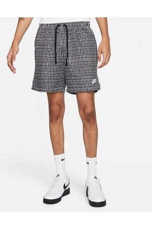 Nike Club grid print woven shorts in