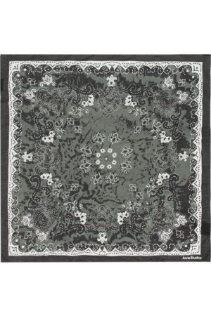 Acne Studios Bandana print scarf U