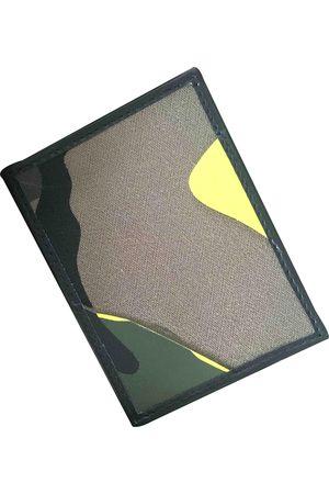 VALENTINO GARAVANI Khaki Leather Small Bags\, Wallets & Cases