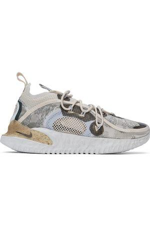 Nike Grey Flow 2020 ISPA Sneakers