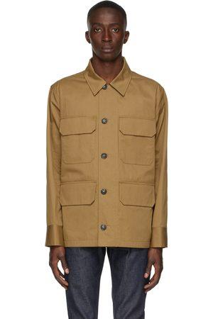 A.P.C. Tan River Field Jacket