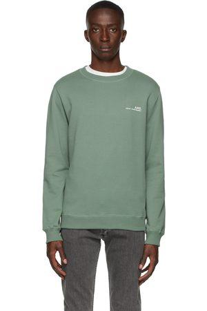 A.P.C. Green Item Sweatshirt