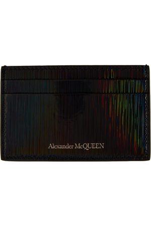 Alexander McQueen Multicolor Iridescent Card Holder