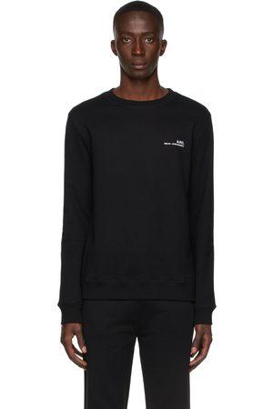 A.P.C. Black Item Sweatshirt
