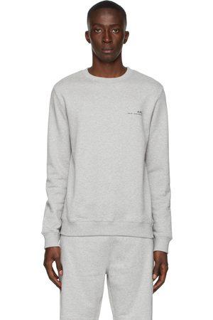 A.P.C. Grey Item Sweatshirt