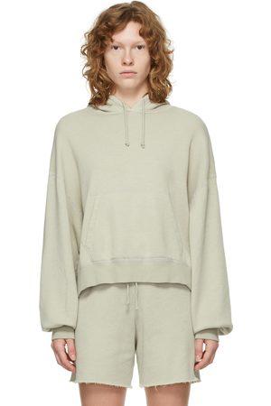 JOHN ELLIOTT Grey Vintage Fleece Hoodie